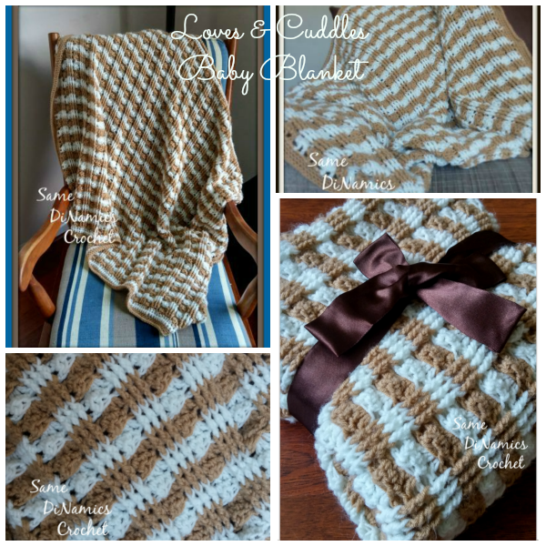 Loves and Cuddles Baby Blanket