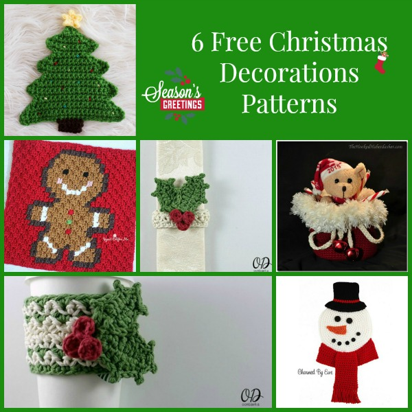 Christmas Decorations Collage