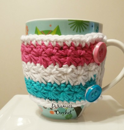 Wrapped In Stars Mug Cozy