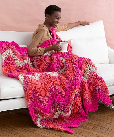 Crochet Retro Throw