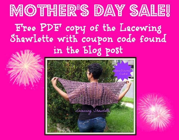 Mother's Day Sale Lacewing Shawlette