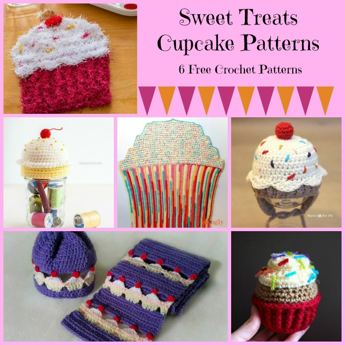 Crocheting these sweet treats cupcakes will have your sweet tooth going crazy and allow you to indulge without the added calories.