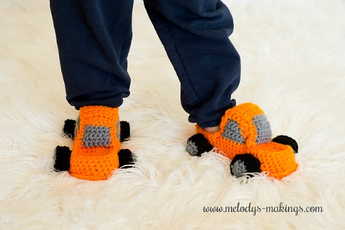 monster truck slippers