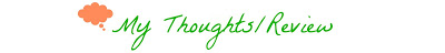 My Thoughts Review Banner