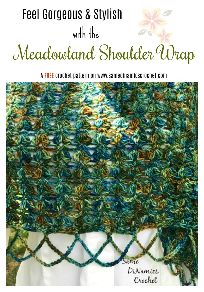 Wrap yourself in comfort and style with this Meadowland Shoulder Wrap.